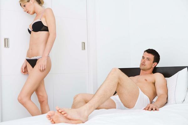férfi és nő nincs erekció