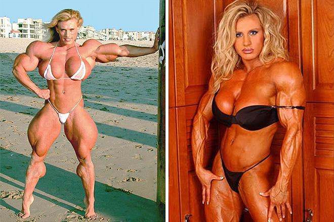 Nők szteroid előtt és szteroid után - Durva fotók!