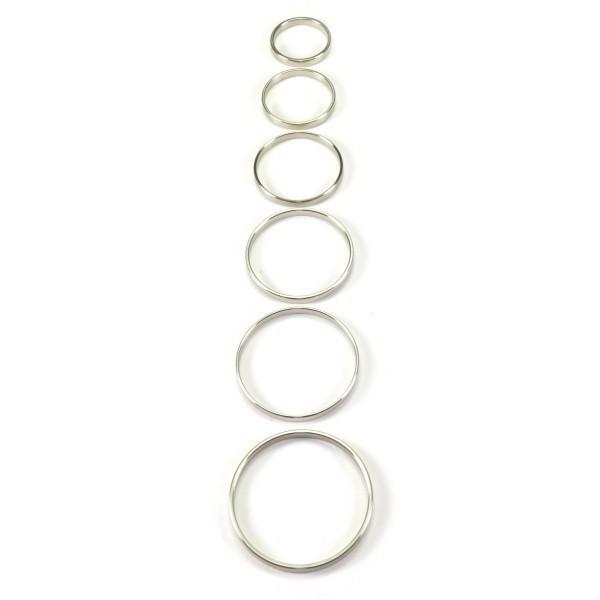 / A szabadság ötven árnyalata - acél péniszgyűrű (5cm)