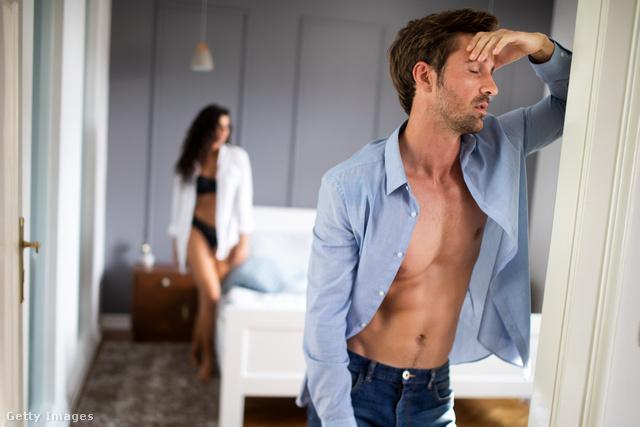 A férfiak szexuális zavarai sokszor épp a szerelem érzéséből fakadnak