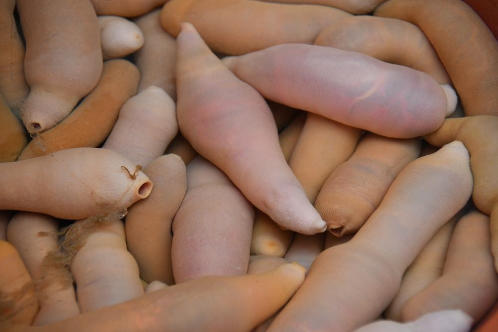 Étel és termékek a pénisz növelésére