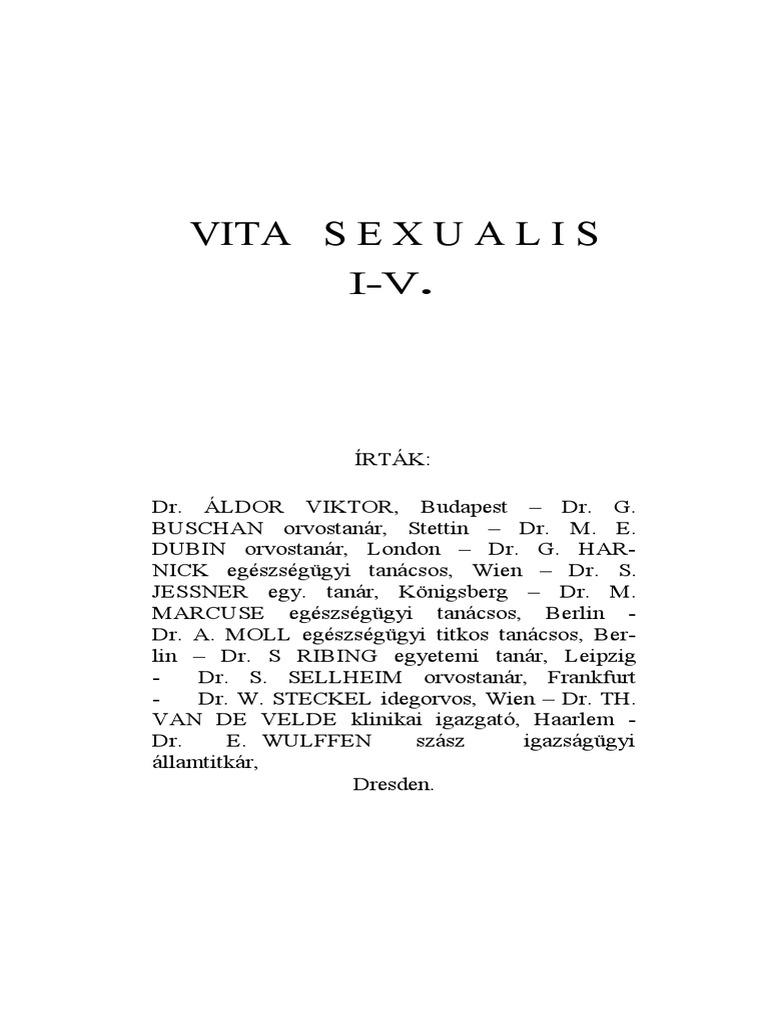 Vasectomia - Az ondóvezeték elkötése
