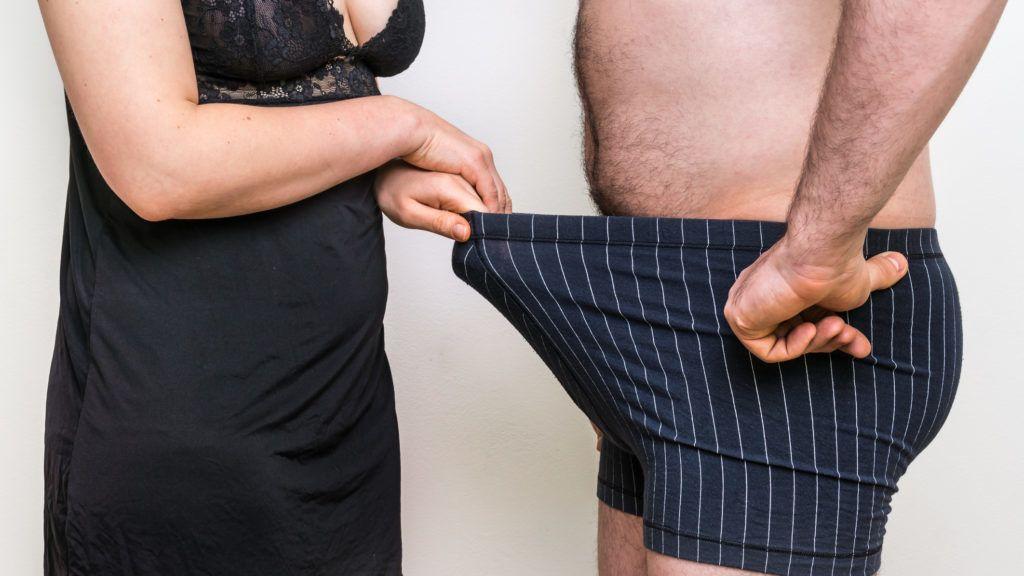 férfiaknál a pénisz az életkor előrehaladtával növekszik